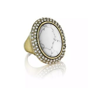 Chloe and Isabel Marble Ring